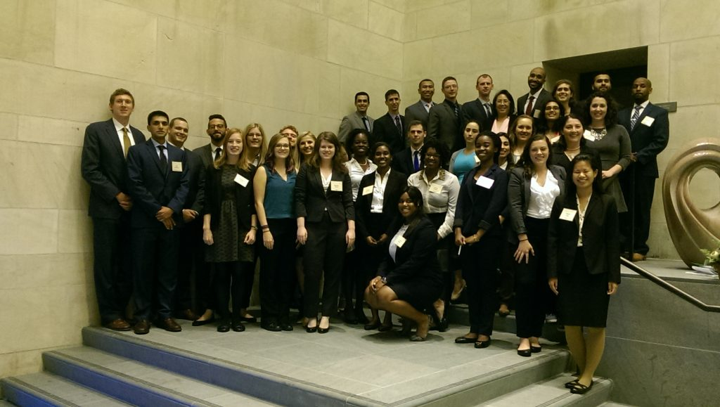 Local student participants in the 2016 DC Public Health Case Challenge