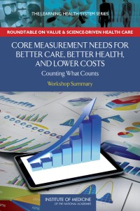 Core Measurement Needs