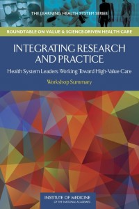 Integrating Research and Practice