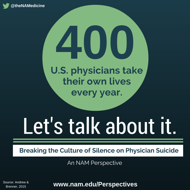 Breaking the Culture of Silence on Physician Suicide
