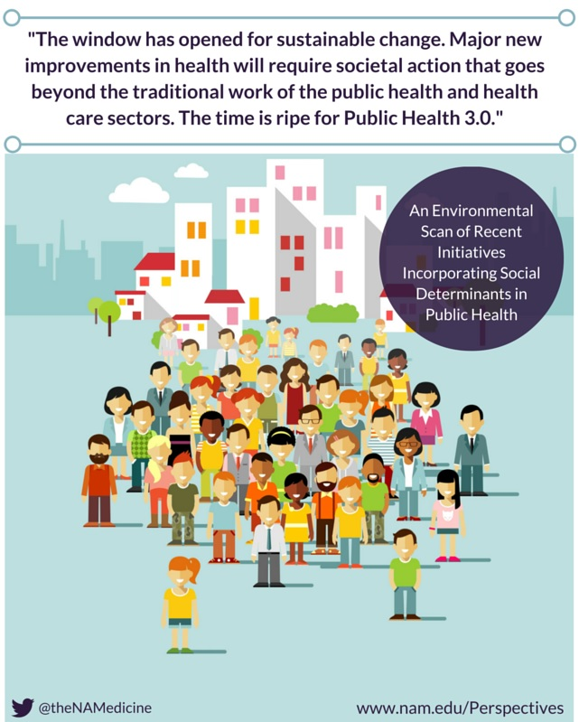 Environmental Scan of Recent Initiatives Incorporating Social Determinants in Public Health