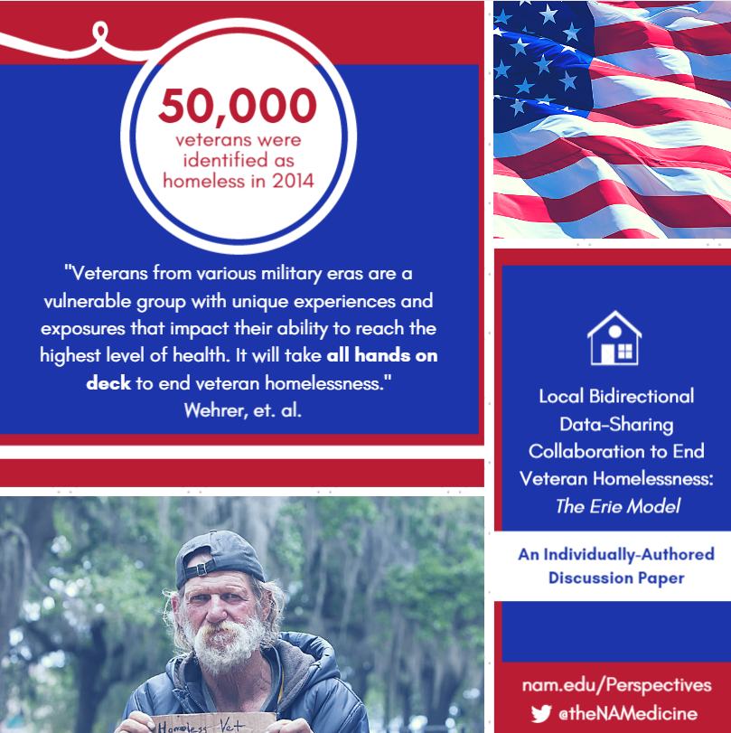 Local Bidirectional Data-Sharing Collaboration to End Veteran Homelessness: The Erie Model