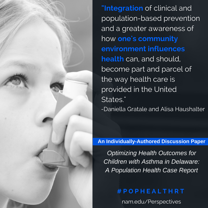 Optimizing Health Outcomes for Children with Asthma in Delaware: A Population Health Case Report