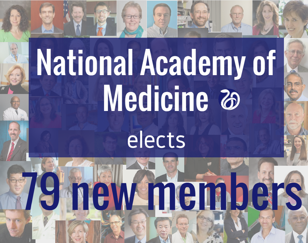 These Newly Elected Members Are Outstanding Professionals Who Care Deeply About Advancing Health And In The US Globally Said National