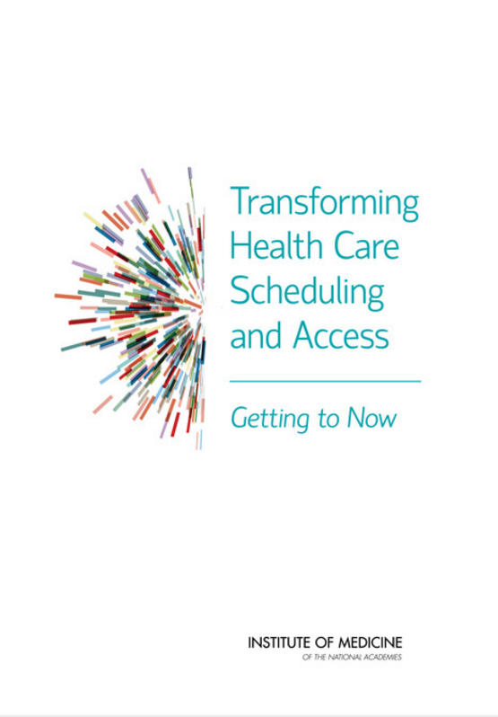 tarnforming health care scheduling and access-getting to now