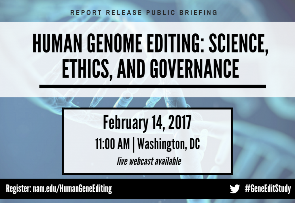 gene edit public briefing SM graphic