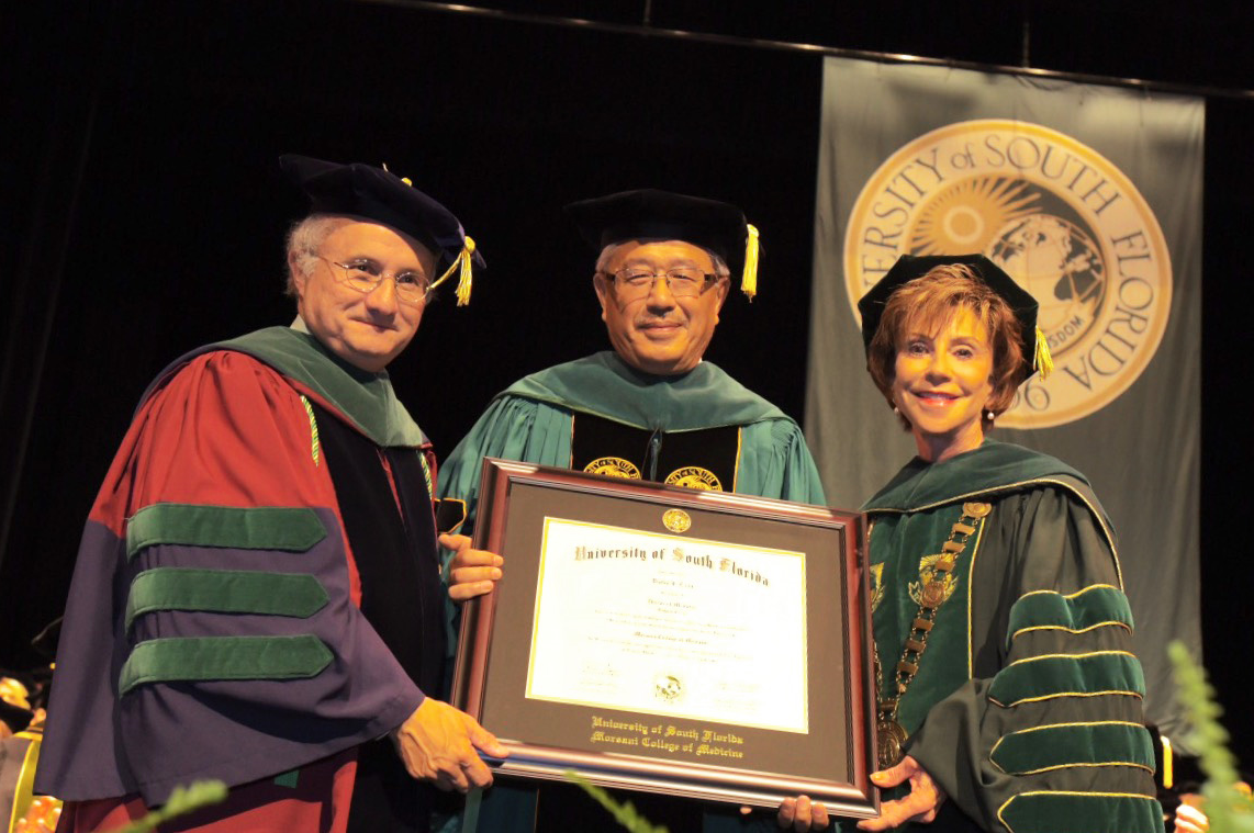 Nam President Victor Dzau Receives Honorary Degree From The