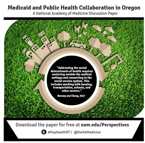 Case Study: Medicaid and Public Health Collaboration in Oregon