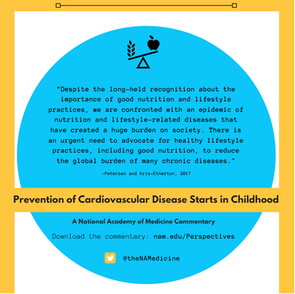 Prevention of Cardiovascular Disease Starts in Childhood