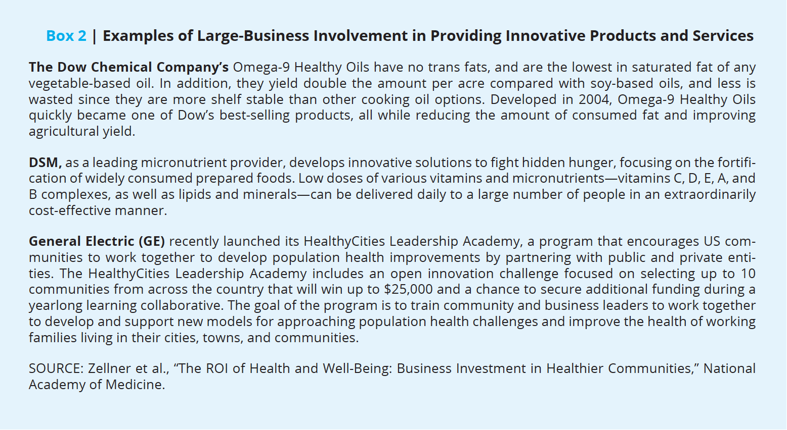 The Roi Of Health And Well Being Business Investment In Healthier