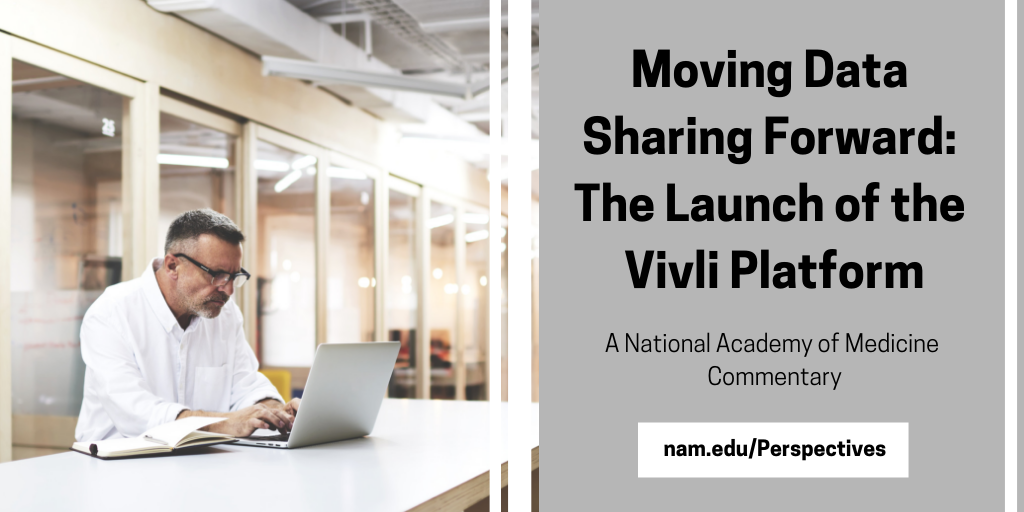Moving Data Sharing Forward: The Launch of the Vivli Platform
